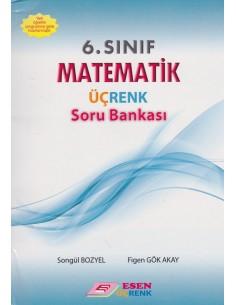 Esen Üçrenk Yayınları 6.Sınıf Matematik Soru Bankası