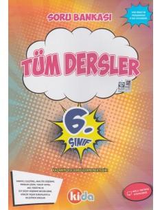 Kida Yayınları 6. Sınıf Tüm Dersler Soru Bankası