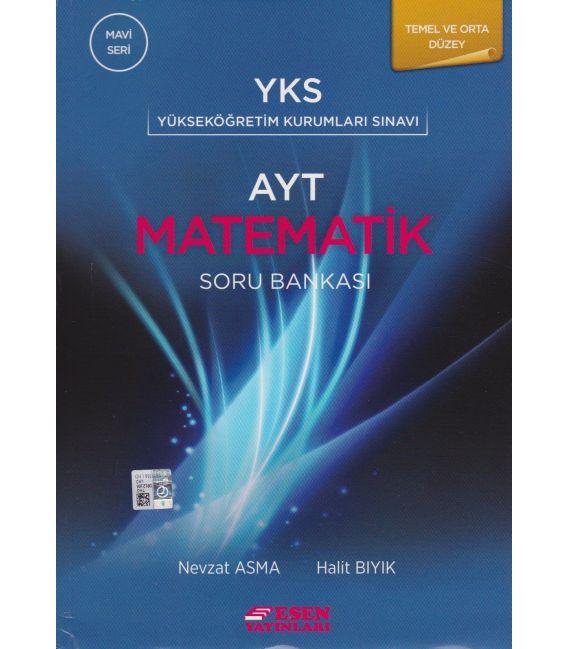 Esen Yayınları AYT Matematik Soru Bankası Temel ve Orta Düzey