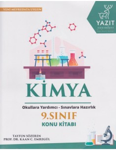 Yazıt Yayınları 9.Sınıf Kimya Konu Kitabı