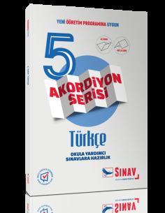 Sınav Yayınları 5.Sınıf Türkçe Akordiyon Kitap