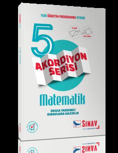 Sınav Yayınları 5.Sınıf Matematik Akordiyon Kitap