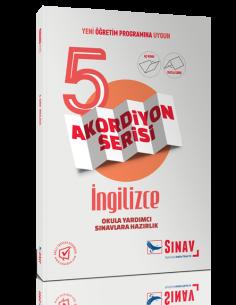 Sınav Yayınları 5.Sınıf İngilizce Akordiyon Kitap
