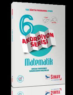 Sınav Yayınları 6.Sınıf Matematik Akordiyon Kitap