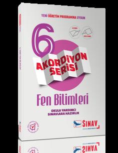 Sınav Yayınları 6.Sınıf Fen Bilimleri Akordiyon Kitap