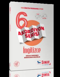 Sınav Yayınları 6.Sınıf İngilizce Akordiyon Kitap