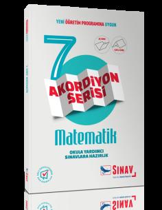 Sınav Yayınları Ortaokul 7.Sınıf Matematik Akordiyon Kitap