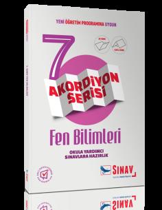 Sınav Yayınları Ortaokul 7.Sınıf Fen Bilimleri Akordiyon Kitap