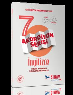 Sınav Yayınları Ortaokul 7.Sınıf Akordiyon Kitap