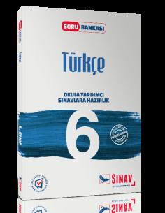 Sınav Yayınları 6.Sınıf Türkçe Soru Bankası