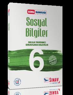 Sınav Yayınları 6.sınıf Sosyal Bilgiler Soru Bankası