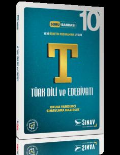 Sınav Yayınları Lise 10.Sınıf Dil ve Anlatım - Türk Edebiyatı Çözümlü Soru Bankası