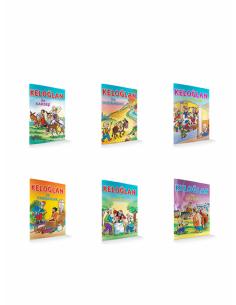 Damla Yayınları Keloğlan Serisi ( 6 Kitap )