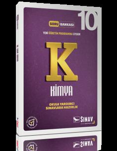 Sınav Yayınları Lise 10.Sınıf Kimya Çözümlü Soru Bankası