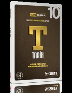 Sınav Yayınları Lise 10.Sınıf Tarih Çözümlü Soru Bankası