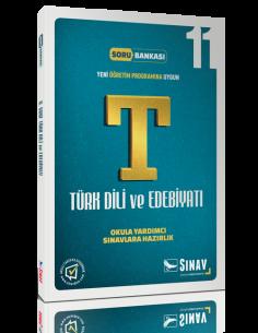 Sınav Yayınları Lise 11.Sınıf Dil ve Anlatım - Türk Edebiyatı Örnek Test Çözümlü Soru Bankası