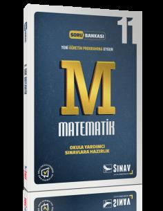 Sınav Yayınları Lise 11.Sınıf Matematik Çözümlü Soru Bankası