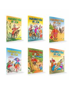 Damla Yayınları Nasreddin Hoca Serisi ( 6 Kitap )