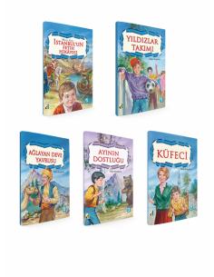Damla Yayınları Talip Arışahin Dizisi ( 5 Kitap )