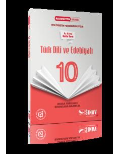 Sınav Yayınları 10.Sınıf Türk Dili ve Edebiyatı Akordiyon Kitap