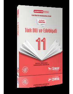 Sınav Yayınları 11.Sınıf Türk Dili ve Edebiyatı Akordiyon Kitap
