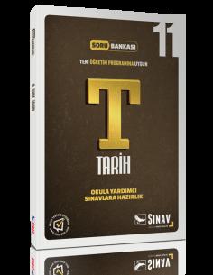 Sınav Yayınları 11.Sınıf Tarih Soru Bankası