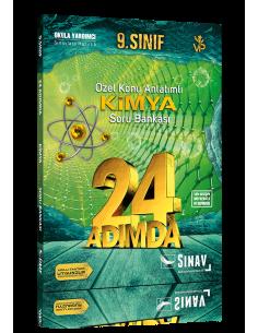 Sınav 9. Sınıf Kimya 24 Adımda Özel Konu Anlatımlı Soru Bankası
