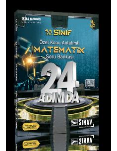 Sınav 10. Sınıf Matematik 24 Adımda Özel Konu Anlatımlı Soru Bankası
