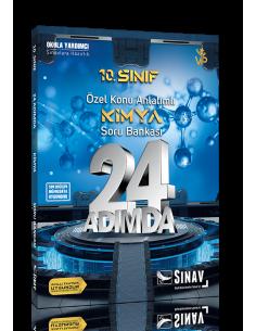 Sınav 10. Sınıf Kimya 24 Adımda Özel Konu Anlatımlı Soru Bankası