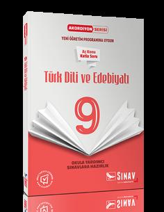 Sınav Yayınları 9.Sınıf Türk Dil ve Edebiyatı Akordiyon Kitap