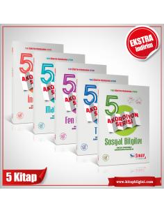 Sınav 5. Sınıf Tüm Dersler Konu Anlatımlı Akordiyon Kazandıran Set (5 Kitap)