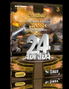 Sınav Yayınları 10. Sınıf Tarih 24 Adımda Özel Konu Anlatımlı Soru Bankası