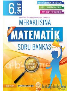 Nartest 6. Sınıf Meraklısına Genç Matematik Soru Bankası