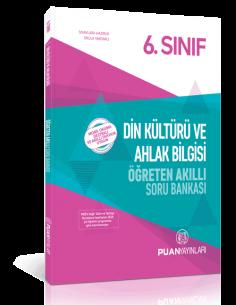 Puan Yayınları 6.Sınıf Din Kültürü ve Ahlak Bilgisi Öğreten Akıllı Soru Bankası