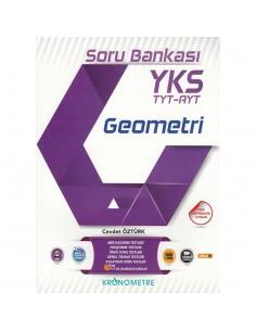Kronometre Yayınları 2018 YKS TYT - AYT Geometri Soru Bankası