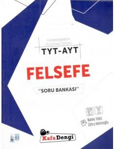 Kafa Dengi Yayınları TYT AYT Felsefe Soru Bankası