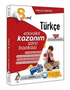 Çanta  8.Sınıf Türkçe Etkinlikli Kazanım Soru Bankası