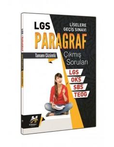 Çanta 8.Sınıf  LGS Paragraf Tamamı Çözümlü Çıkmış Sorular