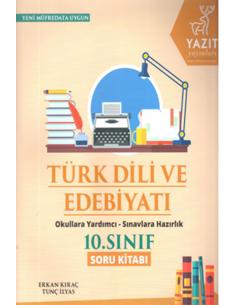 Yazıt Yayınları 10.Sınıf Türk Dili ve Edebiyatı Soru Kitabı