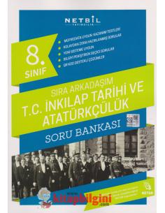 Netbil 8.Sınıf Sıra Arkadaşım TC İnkılap Tarihi Soru Bankası