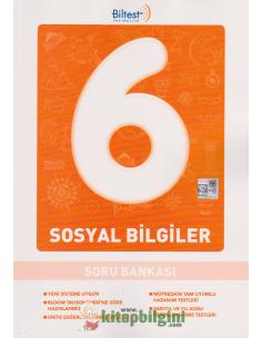 Biltest Yayınları Ortaokul 6.Sınıf Sosyal Bilgiler Soru Bankası
