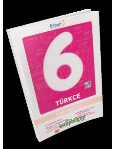 Biltest Yayınları Ortaokul 6.Sınıf Türkçe Soru Bankası