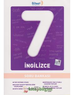 Biltest Yayınları Ortaokul 7.Sınıf İngilizce Soru Bankası