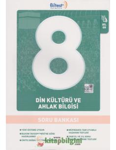 Biltest Yayınları Ortaokul 8.Sınıf Din Kültürü ve Ahlak Bilgisi Soru Bankası