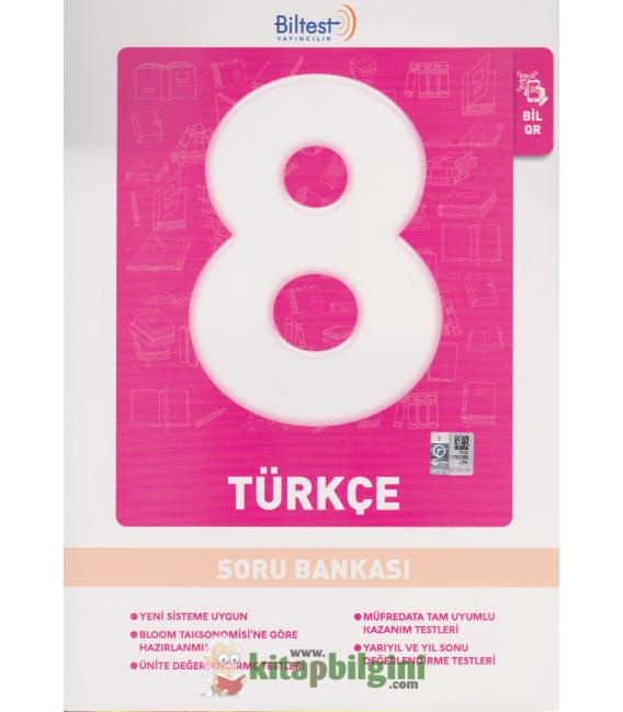Biltest Yayınları Ortaokul 8.Sınıf Türkçe Soru Bankası