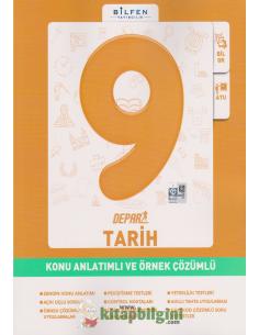 Bilfen Yayınları 9.Sınıf Tarih Depar Konu Anlatımlı ve Örnek Çözümlü