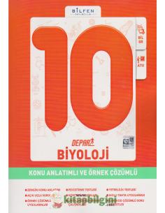 Bilfen Yayınları 10.Sınıf Biyoloji Depar Konu Anlatımlı ve Örnek Çözümlü