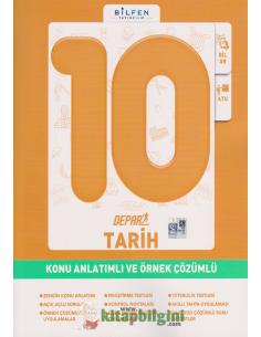 Bilfen Yayınları 10.Sınıf Tarih Depar Konu Anlatımlı ve Örnek Çözümlü
