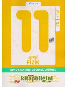 Bilfen Yayınları 11.Sınıf Fizik Depar Konu Anlatımlı ve Örnek Çözümlü