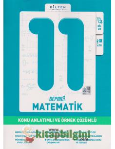 Bilfen Yayınları 11.Sınıf Matematik Depar Konu Anlatımlı ve Örnek Çözümlü